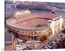 UT Photographs Aerial of Neyland Football Stadium