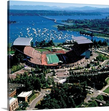 UW Photographs Game Day Aerial
