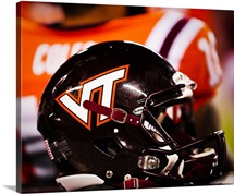 Virginia Tech Helmet