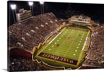 Wake Forest Pictures Aerial of Groves Stadium