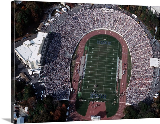 Wallace Wade Stadium Aerial View