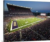 Washington Huskies and the Boise State Broncos at Husky Stadium