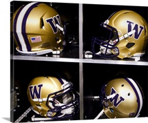 Washington Huskies Football Helmets