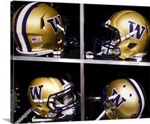 Washington Huskies Football Helmets