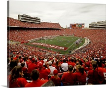 Wisconsin: Badgers Play in Camp Randall Stadium