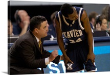 Xavier Pictures Coach Miller Talks Strategy