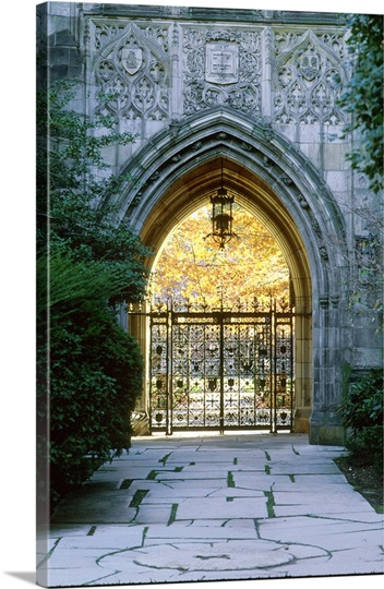 Yale Photographs Harkness Memorial Gate