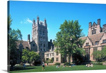 Yale Pictures Branford College on a Sunny Day