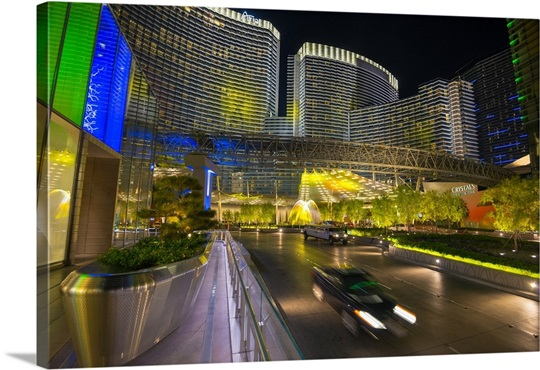 is aria resort and casino on the strip