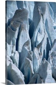 Crevasses, Mendenhall Glacier, Juneau Icefield, Alaska