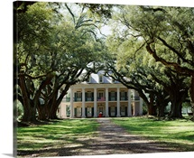 Exterior of Plantation Home, Oak Alley, New Orleans, Louisiana