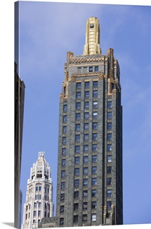 The Carbon and Carbide Building, now the Hard Rock Hotel, Chicago, Illinois
