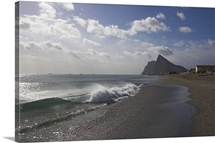 The Rock of Gibraltar, Mediterranean, Europe