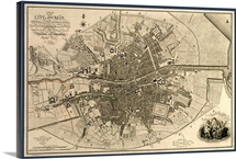 Map of the City of Dublin, 1797