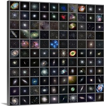 Messier objects, full set