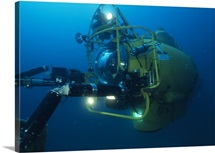 Navy submersible