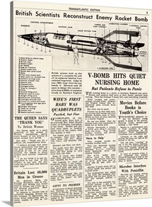 V-2 reconstruction in the Daily Mirror