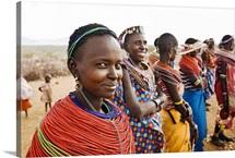 African Samburu Tribal Pride