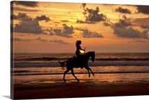 Horseback Sunset, Costa Rica
