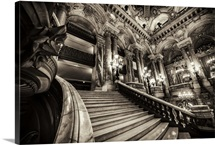 Inside the Grand Opera, Paris, France