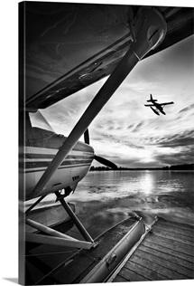 Seaplanes in Anchorage, Alaska
