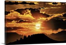 Sunset in Sedona, Arizona