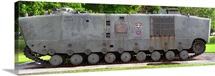 Amphibious armoured vehicle LVT5