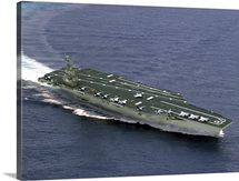 Artists concept of CVN21 one of a new class of aircraft carriers