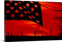 Flag Silhouette