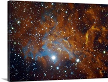 Flaming star nebula in Auriga IC405