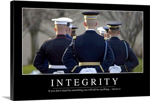 Integrity: Inspirational Quote and Motivational Poster ...