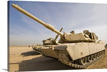 M1 Abrams tank at Camp Warhorse