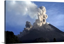 Merapi eruption Java Island Indonesia