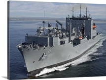 Military Sealift Command dry cargo and ammunition ship USNS Washington Chambers