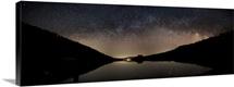Milky Way over Emerald Lake in Lake Tahoe, California