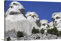 Mount Rushmore National Memorial, South Dakota, USA