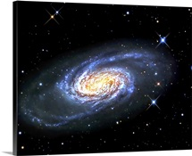 NGC 2903 is a barred spiral galaxy in the constellation of Leo