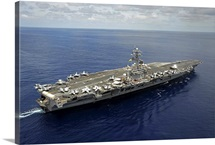 Nimitz-class aircraft carrier USS Dwight D. Eisenhower