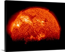 Spring eclipse as viewed from the Solar Dynamics Observatory