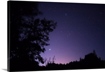 Starry sky as viewed from Alentejo Portugal