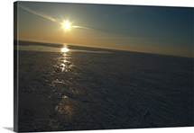 Sunrise over Gulf of St Lawrence