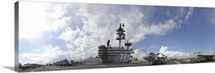 The aircraft carrier USS George H.W. Bush