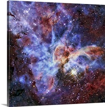 The Carina Nebula also known as NGC 3372