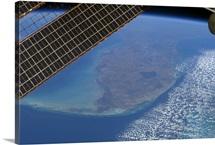 The Florida peninsula