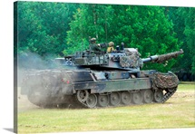 The Leopard 1A5 main battle tank