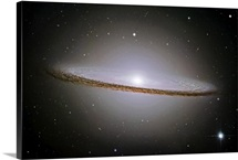 The Majestic Sombrero Galaxy Messier 104