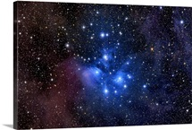 The Pleiades also known as the Seven Sisters