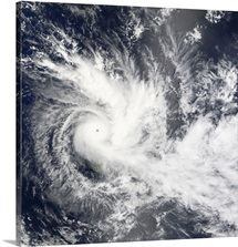 Tropical Cyclone Daman over the South Pacific Ocean