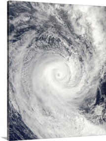 Tropical Cyclone Oli off the coast of Tahiti