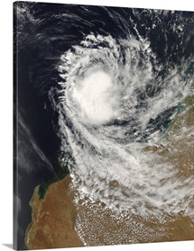 Tropical Cyclone Ophelia off Australia
